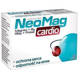 Neomag cardio x 50 tabl, produkt z kategorii- Witaminy i minerały