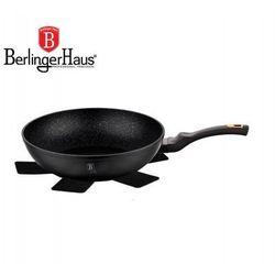 Patelnia granitowa / wok 28cm black rose [bh-1638-n] marki Berlinger haus