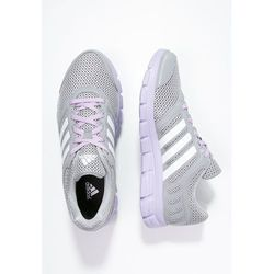 adidas Performance BREEZE 101 2 Obuwie do biegania startowe mid grey/white/purple glow - produkt z kategorii-
