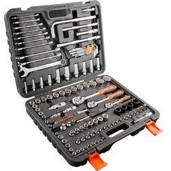 Zestaw kluczy nasadowych i bitów NEO 08-667 1/4 1/2 3/8 cala (126 elementów)