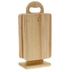 Eh excellent houseware 6 drewnianych desek kuchennych + stojak w komplecie (8718158719980)