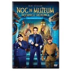 Noc w muzeum. Tajemnica grobowca (DVD) - Shawn Levy z kategorii Filmy animowane