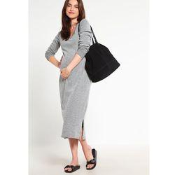 MAMALICIOUS MLMELOW Sukienka z dżerseju medium grey melange z kategorii Sukienki ciążowe