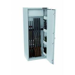 Sejf na broń z zamkiem elektronicznym mlb 150s/10 e klasa s1 marki Konsmetal