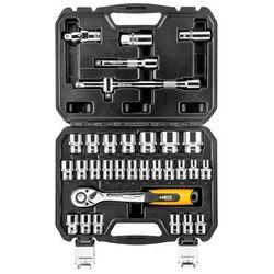 Neo Zestaw kluczy nasadowych 1/2 cala 08-662 (32 elementy) + darmowy transport! + zamów z dostawą ju