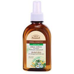 hair care ekstrakt ziołowy do włosów zniszczonych i łamliwych od producenta Green pharmacy