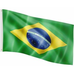 FLAGA BRAZYLII BRAZYLIJSKA 120x80 CM NA MASZT BRAZYLIA
