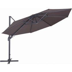 Makers parasol ogrodowy boczny verona 3,5 m, czerwony