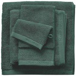 Marc o'polo Gruby ręcznik łazienkowy w odcieniu zieleni, elegancki ręcznik bawełniany, , 30 x 50 cm, 50 x 100 cm