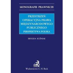 Przestrzeń operacyjna prawa międzynarodowego publicznego Perspektywa Polska, pozycja z kategorii Prawo, akty