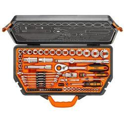 Neo Klucze nasadowe 08-635 1/4 i 1/2 cala 71 elementów + zamów z dostawą jutro! + darmowy transport