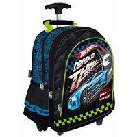Plecak na kółkach Hot Wheels niebieski Cabh MAJEWSKI (5903235111303)