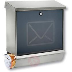 Skrzynka na listy LUCCA z dekoracją na drzwiach (4003482180808)