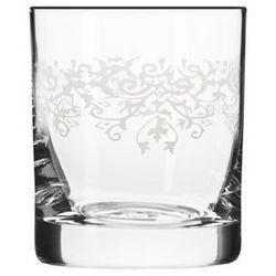 KROSNO PRESTIGE KRISTA DECO Szklanki do whisky 300 ml 6 sztuk