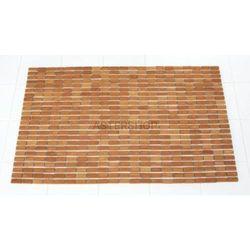 BAMBOO Dywanik łazienkowy 60x90 cm bambus 7950309, 7950309