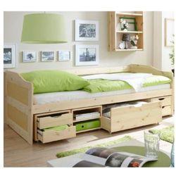 Ticaa łóźko dziecięce z szufladkami marlies kolor naturalny marki Ticaa kindermöbel