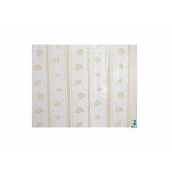 Zasłona prysznicowa Bisk PEVA SHELL 00815