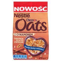 Płatki owsiane chrupkie z cynamonem Nestlé Cheerios Oats 210 g - produkt z kategorii- Płatki, musli i otrę
