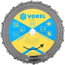 Vorel Tarcza łańcuchowa 230mm / 08773 /  - zyskaj rabat 30 zł