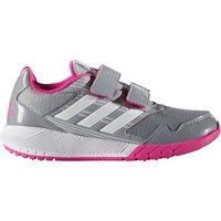 adidas Performance ALTARUN Obuwie do biegania treningowe mid grey/white/shock pink, kolor szary
