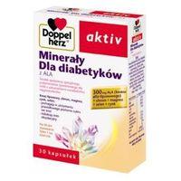 Doppelherz Aktive Minerały dla diabetyków 30 kaps. (lek preparaty na poziom cukru)