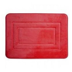 Duschy Super miękki dywanik łazienkowy 3d 40x60 cm czerwony