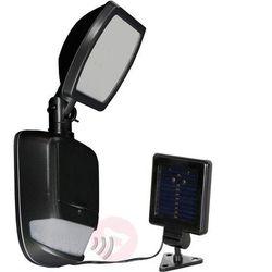 Security light – lampa solarna led, czarna marki Duracell