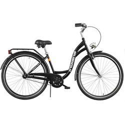 Rower INDIANA Moena S1B Czarny Połysk + DARMOWY TRANSPORT! - sprawdź w wybranym sklepie