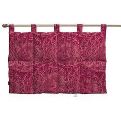 Dekoria Wezgłowie na szelkach, bordowe wzory, 90 x 67 cm, Mirella