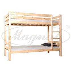 Łóżko drewniane piętrowe 90x200 marki Magnat - producent mebli drewnianych i materacy