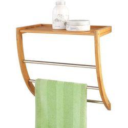 Zeller Wieszak na ręczniki + półka łazienkowa, 2 w 1,