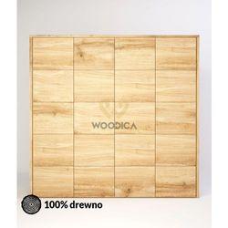 Szafa dębowa modern 04 209x202x62 marki Woodica