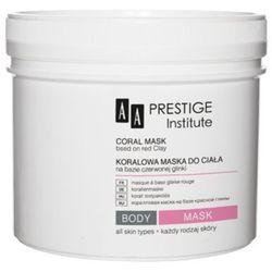 Aa prestige institue coral mask koralowa maska do ciała na bazie czerwonej glinki od producenta Aa prestige i