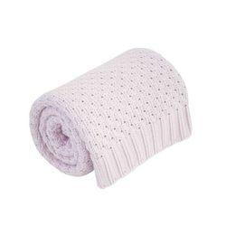 I kocyk różowy 100% bawełny | u nas skompletujesz całą wyprawkę | szybka wysyłka marki Effik