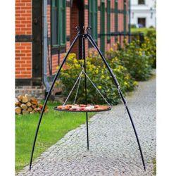 Korono Grill na trójnogu z rusztem ze stali nierdzewnej 200 cm / 50 cm średnica