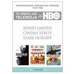 TO JEST HBO. PAKIET 3 FILMÓW (SUNSET LIMITED, CINEMA VERITE, SZARE OGRODY) (3 DVD) GALAPAGOS Films 7321910323