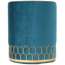 Pufa Velvet Alize niebieska (5902385740340)