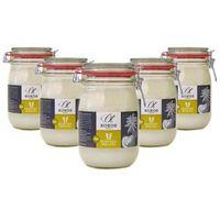 Bio olej kokosowy na zimno tłoczony 1000 ml - zestaw x 5 marki Ölmühle solling