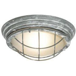 OLENA-Kinkiet lub Plafon zewnętrzny okrągły Metal Ø28,3cm (4004353259074)