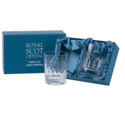 Royal scot crystal szklanki sapphire do whisky 210ml 2szt.