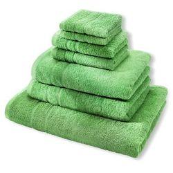 """Komplet ręczników """"Deluxe"""" (7 części) bonprix zielone jabłuszko"""