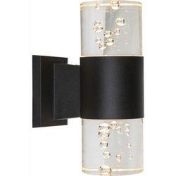 Kinkiet lampa oprawa ścienna zewnętrzna monika 1x8w led czarny 32406w marki Globo