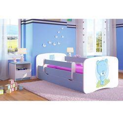 Łóżko dziecięce Kocot-Meble BABYDREAMS NIEBIESKI MIŚ Kolory Negocjuj Cenę