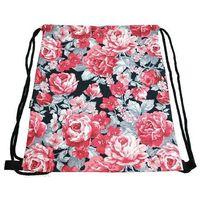Worek buty plecak fullprint 3d róże kwiaty 48 - w048 marki Tara