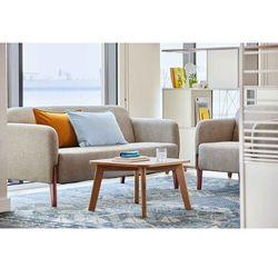 Sofa 3-osobowa FUSION jasnoszary, kolor szary