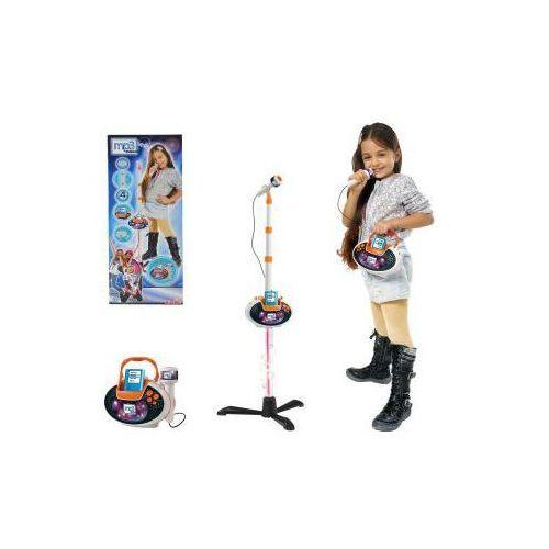 Zestaw Mikrofon 2w1 na statywie z MP3 Simba 106838615 z kategorii zabawki AGD