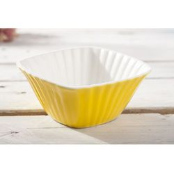 Giardino horeca kokilka, naczynie do zapiekania 9 cm żółte marki Giardino / horeca-gastronomia