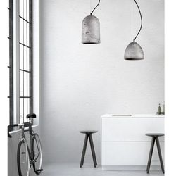 Lampa z betonu lava zwis wyprodukowany przez Nowodvorski