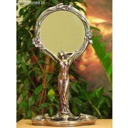 Kobieta zwierciadełko lustro