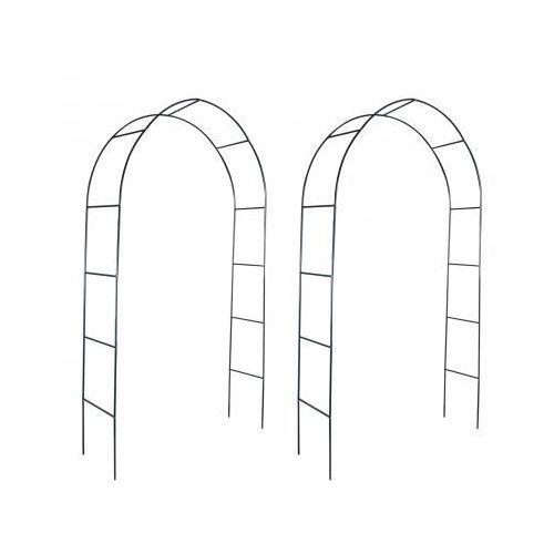 Pergola ogrodowa, łuk dla pnącz (2 szt) - produkt dostępny w VidaXL